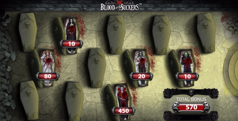 blood suckers bonusspel